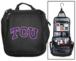 TCU Texas Christian Toiletry Bag or Shaving Kit