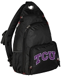 TCU Texas Christian Backpack Cross Body Style