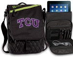 TCU Texas Christian Tablet Bags & Cases Green