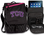 TCU Texas Christian Tablet Bags & Cases Pink