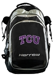 TCU Texas Christian Harrow Field Hockey Lacrosse Backpack Bag