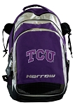 TCU Harrow Field Hockey Lacrosse Backpack Bag Purple