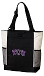TCU Texas Christian Tote Bag W