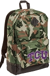 TCU Texas Christian Camo Backpack