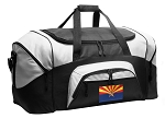 Arizona Flag Duffel Bags or Arizona Gym Bags