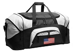American Flag Duffel Bags or USA Flag Gym Bags