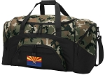 Arizona Flag Camo Duffel Bags