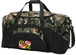Maryland Flag Camo Duffel Bags
