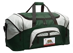 California Flag Duffle Bag Green