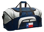 Large Texas Duffle Texas Flag Duffel Bags