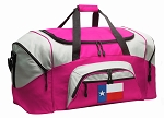 Texas Duffel Bag or Gym Bag for Women