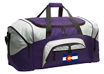 LARGE Colorado Flag Duffle Bags & Gym Bags
