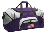 LARGE American Flag Duffle Bags & Gym Bags