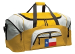 Large Texas Duffle Bag or Texas Flag Luggage Bags