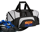 Small Arizona Flag Gym Bag or Small Arizona Duffel