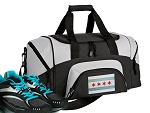 Small Chicago Gym Bag or Small Chicago Flag Duffel