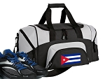 Small Cuba Gym Bag or Small Cuban Flag Duffel