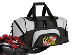 Small Maryland Flag Gym Bag or Small Maryland Duffel