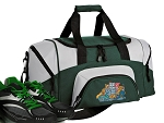 Crazy Cat Small Duffle Bag Green