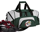 Baseball Small Duffle Bag Green