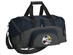 SMALL Crazy Soccer Gym Bag Soccer Fan Duffle Navy