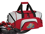 Crazy Cat Small Duffle Bag Red
