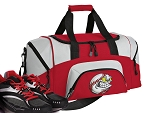 Baseball Small Duffle Bag Red