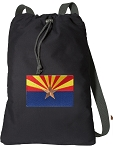 Arizona Cotton Drawstring Bag Backpacks