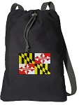 Maryland Cotton Drawstring Bag Backpacks