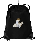 Cute Cats Drawstring Backpack-MESH & MICROFIBER