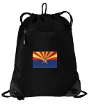 Arizona Drawstring Backpack-MESH & MICROFIBER
