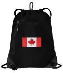 Canada Drawstring Backpack-MESH & MICROFIBER