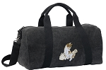 Cute Cats Duffel RICH COTTON Washed Finish Black