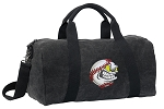 Baseball Duffel RICH COTTON Washed Finish Black