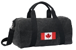 Canada Duffel RICH COTTON Washed Finish Black
