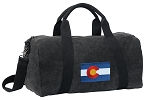 Colorado Duffel RICH COTTON Washed Finish Black