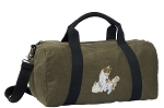 Cute Cats Duffel RICH COTTON Washed Finish Khaki