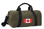Canada Duffel RICH COTTON Washed Finish Khaki