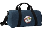 Baseball Duffel RICH COTTON Washed Finish Blue