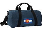 Colorado Duffel RICH COTTON Washed Finish Blue
