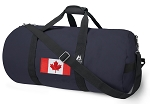Canadian Flag Blue Duffel Bags