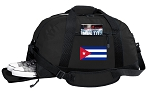 Cuba Duffel Bag - Cuban Flag GYM BAG with Shoe Pocket