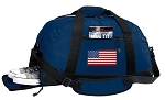 American Flag Duffle Bag w/ Shoe Pocket