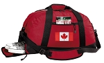 Canadian Flag Duffle Bag Red