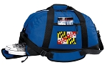 Maryland Duffel Bag with Shoe Pocket Blue