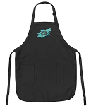 Deluxe Christian Apron Black