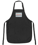 Chicago Flag Deluxe Apron
