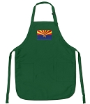 Deluxe Arizona Apron Green