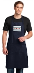Chicago Flag Apron LARGE Navy