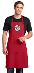 Baseball Large Apron Red